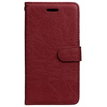 Wkae Solid Color PU Leather Flip Stand Case with Wallet and Three Card Slots for Lenovo ZUK EDGE