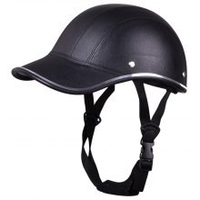 Motorcycle Helmet Baseball Style Plaid Half Open Face Safety Hard Hat Anti-UV Helmets