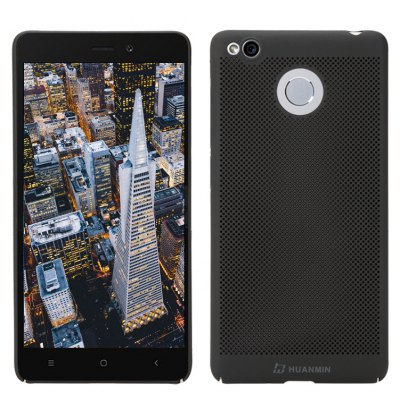 Fashion Ultra-Thin Breathable Cooling Mesh Hard Phone Cover for RedMi 3S