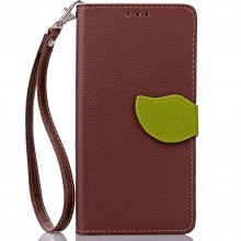 Love Leaf Card Lanyard Pu Leather for Lenovo P70