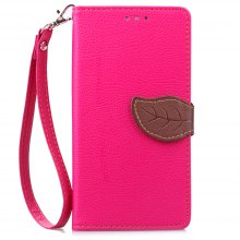 Love Leaf Card Lanyard Pu Leather for Lenovo K3 NOTE