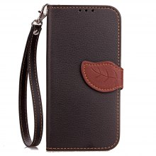 Love Leaf Card Lanyard Pu Leather for Lenovo P2