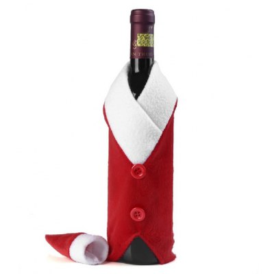 Yeduo Christmas Red Wine Bottle Bag Cover Bags Dinner Table Home Decoration