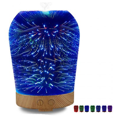 Unquie Design 3D Glass Electric Aromatherapy Essential Oil Aroma Diffuser