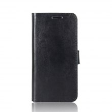 Durable Crazy Horse Pattern Back Buckle Flip PU Leather Wallet Case for Nokia Lumia 8