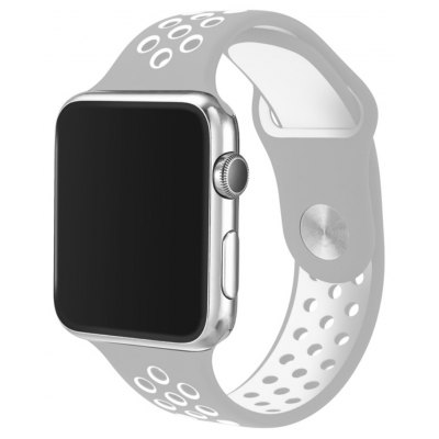 42MM Soft Silicone Replacement Band for Apple Watch Series 2/1 / Sport Edition M/L Size