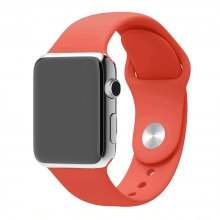 38MM Langte Silicone Apple Watch Band for Apple Watch Series 2/1 / Sport Edition M/L Size
