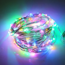 2M 20LED 3AA 4.5V Battery Powered Waterproof Decoration LED Copper Wire Lights String for Christmas Festival Wedding Party