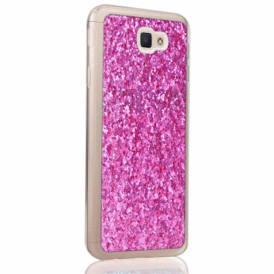 Yc Powder Coated Leather All Wrapped Tpu Mobile Phone Case for Samsung J5 Prime