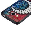 3D Embossed Color Pattern TPU Soft Back Case for Samsung Galaxy J3 2016 photo