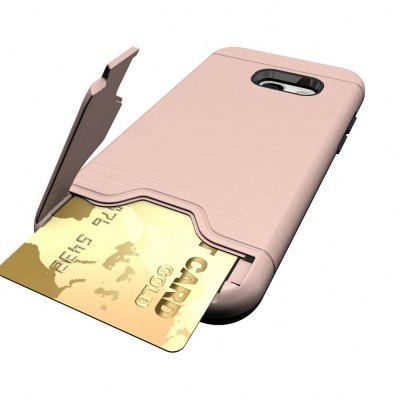 Shockproof Convenient One Card Slot Hard Back Case for Samsung Galaxy A3 2017