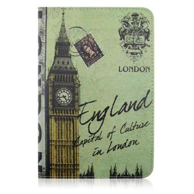 Classic Retro Painted Pu Tablet Case for Ipad 2/3/4