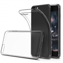 Ultrathin Silicone Shock-Absorption Bumper Tpu Clear Case for iPhone 8 Plus