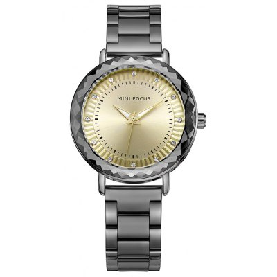 MINI FOCUS Mf0040l 4452 Fashion Steel Band Women Watch