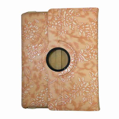 Pattern Tablet Ipad Case Computer 360 Degree Rotating Protective Case for Ipad 2 / 3 / 4