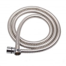 Shower Hose Sea Pioneer 1.5M Anti-Explosion Stainless Steel Shower Hose with Solid Brass