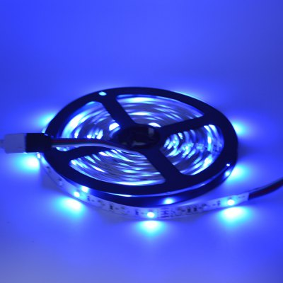 DYY DC 12V 2A 3528 Marquee 5M 300 Lamp with 44 Key Controller of the Blue Light