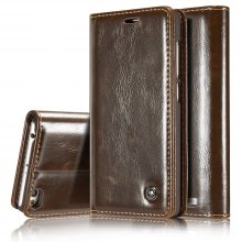 CaseMe Premium Quality Magnetic PU Leather Wallet Stand Case for Xiaomi Redmi 3