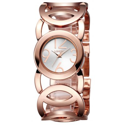 Longbo 80222L 4140 Trendy Jewelry Clasp Female Watch