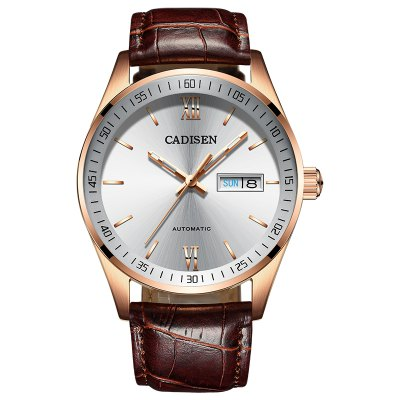 Hot Sale Cadisen Men Watches Top Luxury Sapphire Glass 50M Waterproof Automatic Mechanical Business Role Style Watch