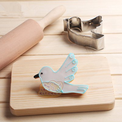 AY - HQ207 Stainless Steel Biscuit Mold Bird Pigeon Shape