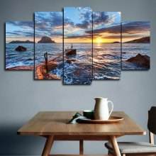 DYC 101 - 51718 5PCS Landscape Canvas Print Art