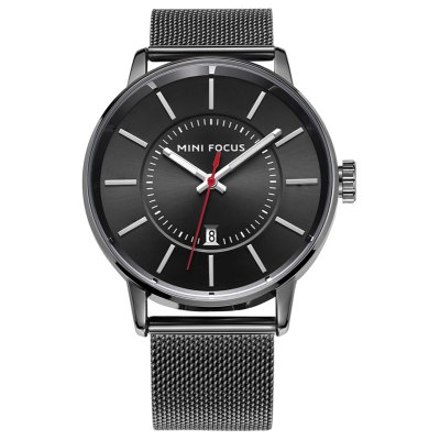 MINI FOCUS 4291 Leisure Calendar Display Male Watch