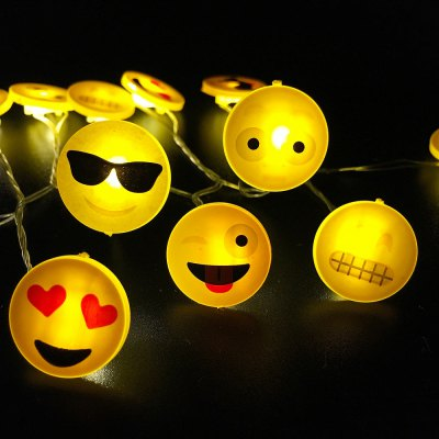 Expression Shape String Lights for Patio Micro 2M 20-LED