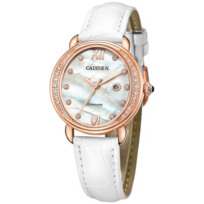 Fashion colors CADISEN 2017 Brand Luxury Women's Casual watches waterproof watch women fashion Dress