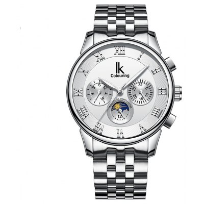 IK COLOURING K013 4613 Luminous Needle Male Watch
