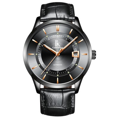 IKCOLOURING K007g 4628 Leather Band Men Watch