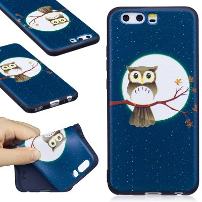Embossed Painted TPU Phone Case for Huawei P10
