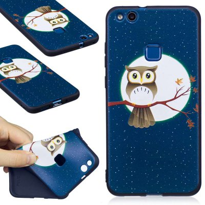 Embossed Painted TPU Phone Case for Huawei P10 Lite