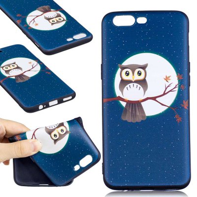 Embossed Painted TPU Phone Case for One Plus 5