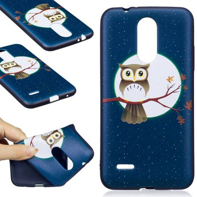 Embossed Painted TPU Phone Case for Lg K8 2017