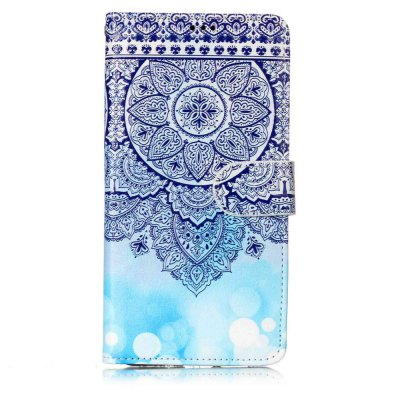 Varnish Embossed Painted PU Phone Case for Huawei P10 Lite