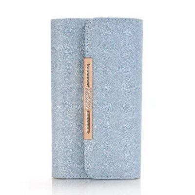 Bling Shining Style Detachable 2 in 1 Leather Case for iPhone X