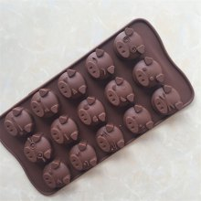 Cute Pig Shape Cake Chocolate Baking Mold