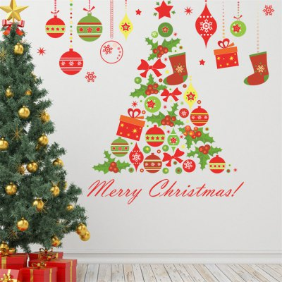 Christmas Tree Wall Sticker for Home Decoration