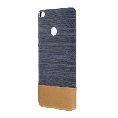 Wkae Jeans Canvas Leather Back Case Cover for Xiaomi Max 2