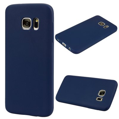 Textured Ultra-Slim TPU Soft Back Case for Samsung Galaxy S7 Edge