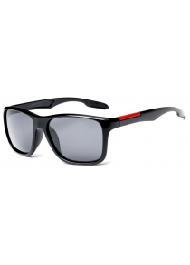 TOMYE P6023 2018 New products gadgets PC Square Frame Driver Polarized Sunglasses