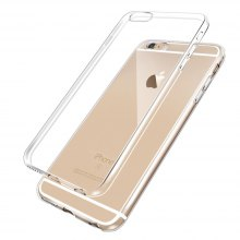 Ultra Thin TPU Soft Transparent Clear Crystal Case for iPhone 6 / 6s