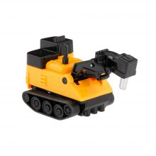 Magic Mini Construction Truck Excavator Black Drawn Line Toy Car