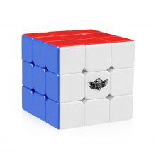3x3x3 Speed Cube Stickerless Magic Cube Puzzles Toys 56mm