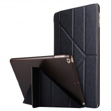 For iPad 2017 Case Model A1822 A1823 9.7 Inch Soft Tpu Leather Surface Cover Flip Stand Safe Smart