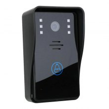 HD 720P Wireless WIFI Video Door Phone Intercom System Night Vision Waterproof Doorbell