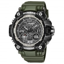 SYNOKE 67386 Trendy Sports Multifunctional Man Watch