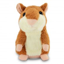 Hamster Style Repeat People Words Electronic Plush Toy