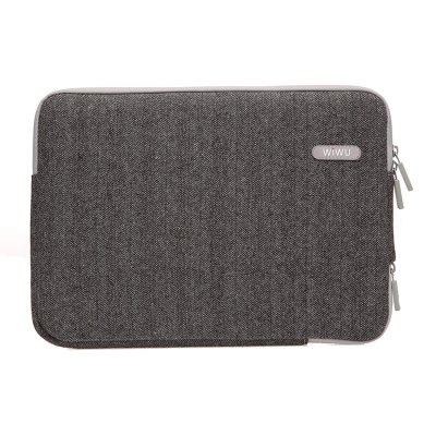 WIWU London Classic Sleeve Bag Case for Macbook Laptop 15.4 inch